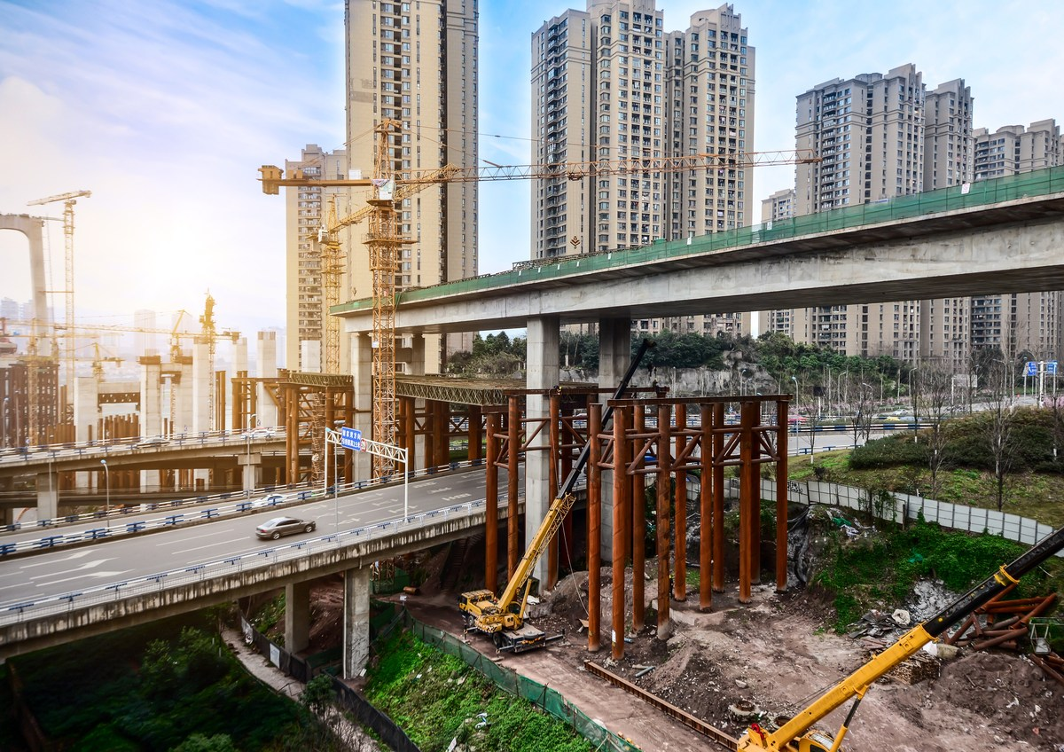 Infrastructure investment in China should hold up significantly  better than the May data and market sentiment suggest, according to Goldman Sachs. Photo: iStock