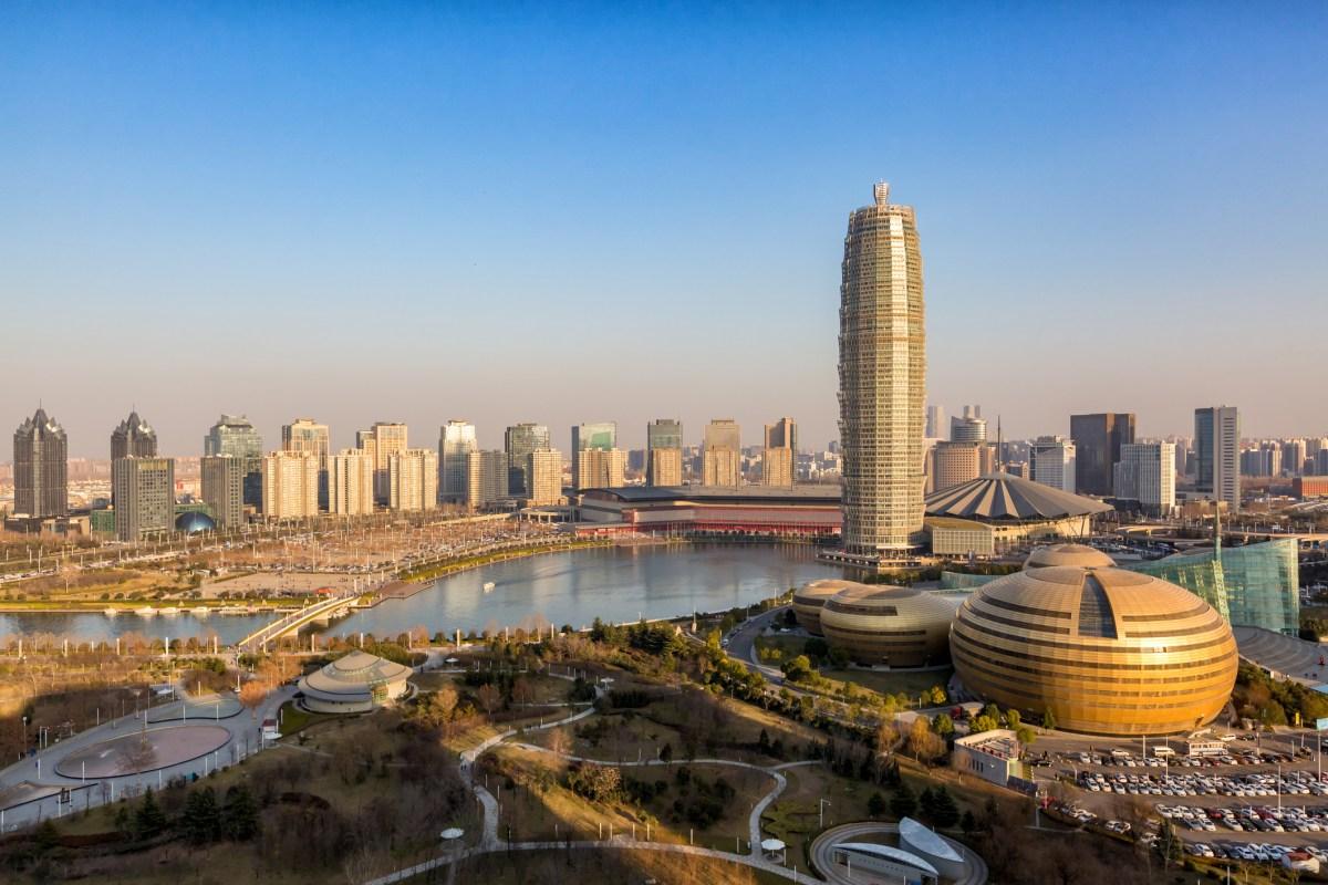 Zhengdong new district in Zhengzhou city, Henan province, China. Photo: iStock