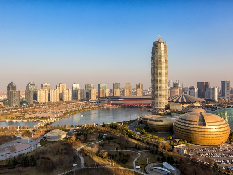 Zhengdong new district in Zhengzhou city, Henan province, China. Photo: iStock
