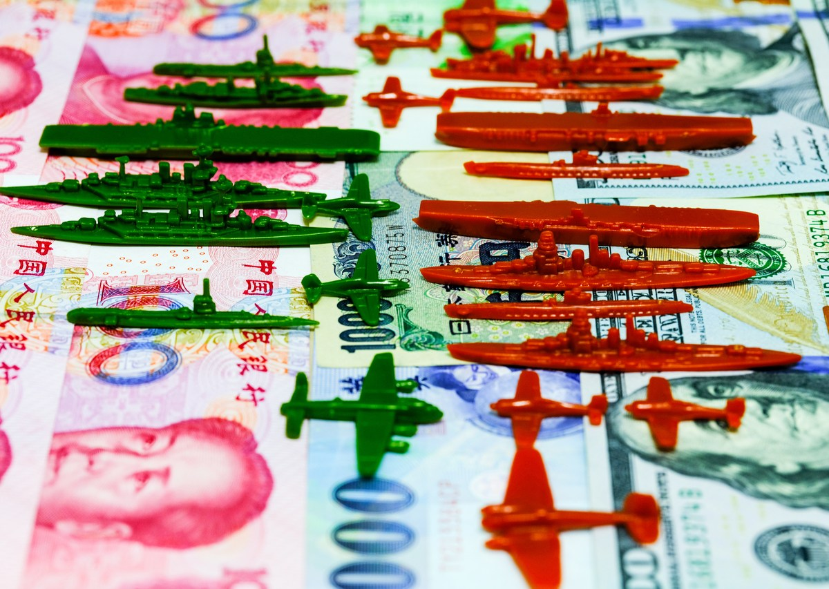 China's US dollar reserves could be used as a weapon in the trade war with America. Photo: iStock