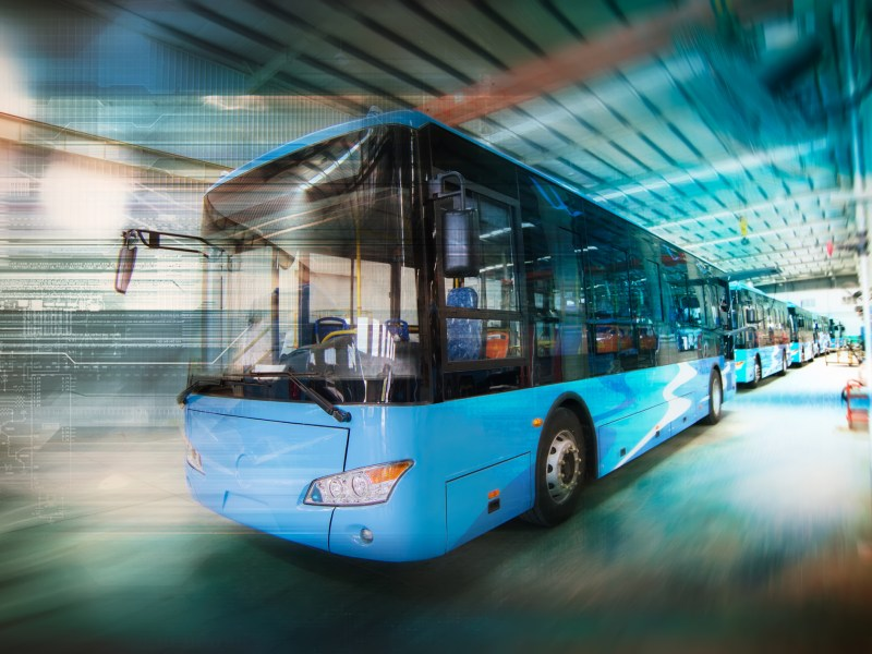 Electric bus. Photo: iStock