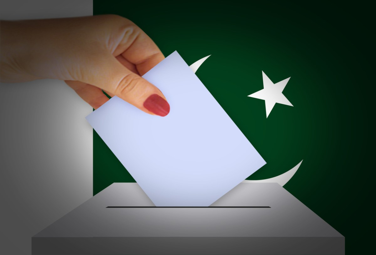 People in Pakistan will go to the ballot box for a national election on Wednesday July 25. Image: iStock