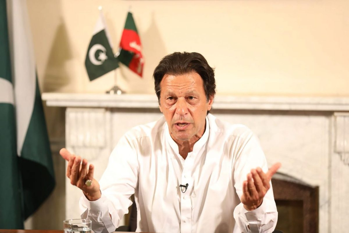 Pakistani Prime Minister Imran Khan. Photo: AFP/ PTI