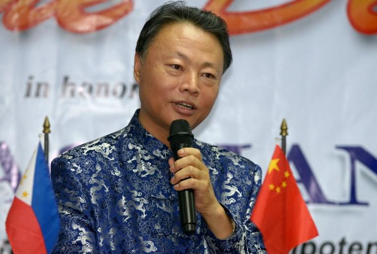 Chinese Ambassador to the Philippines Zhao Jianhua. Photo: AFP