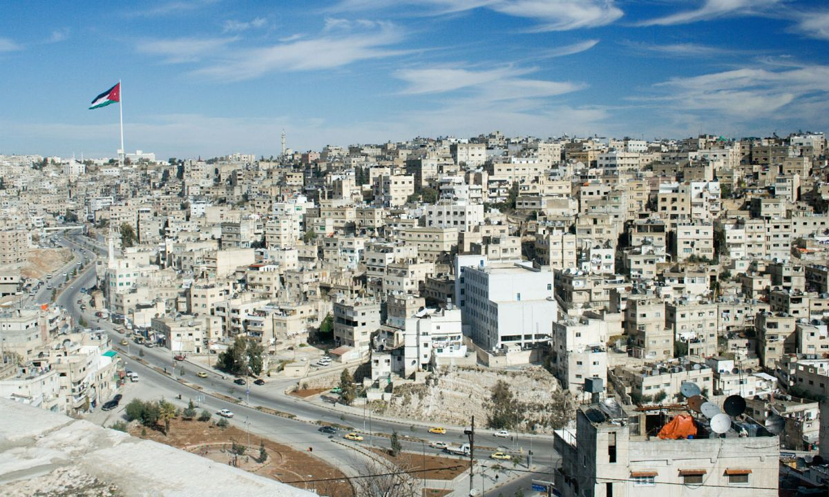 Amman, capital of Jordan. Photo: Wikimedia Commons