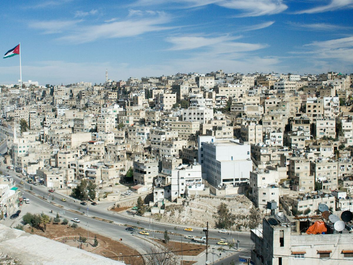 Amman, capital of Jordan. Photo: Wikimedia Commons