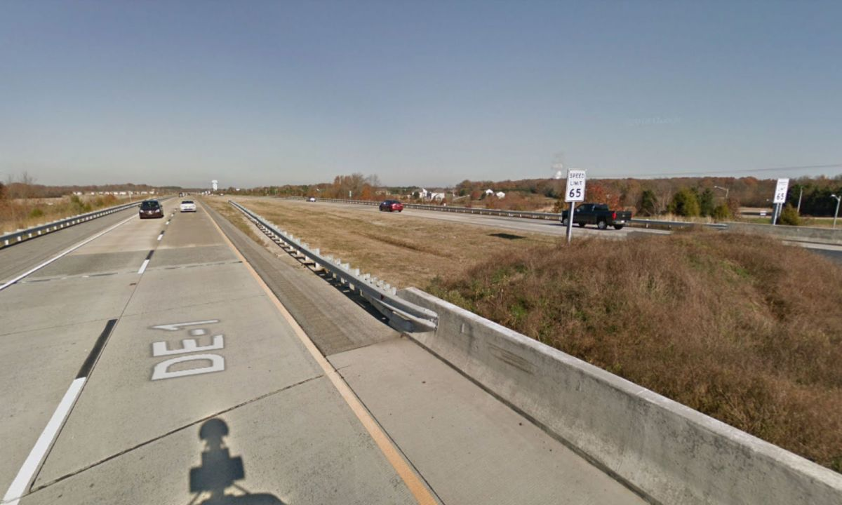 Delaware Highway in the United States. Photo: Google Maps