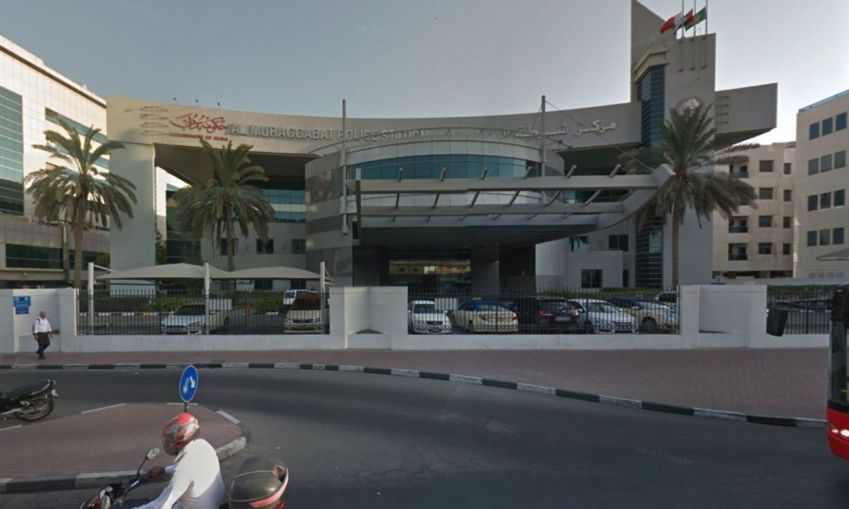 Muraqqabat Police station in Bur Dubai, where the Filipino mother left her newborn baby. Photo: Google Maps