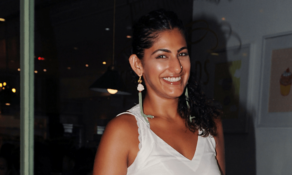 Indian Bollywood actress Kubra Sait in Mumbai recently. Photo: AFP/STR