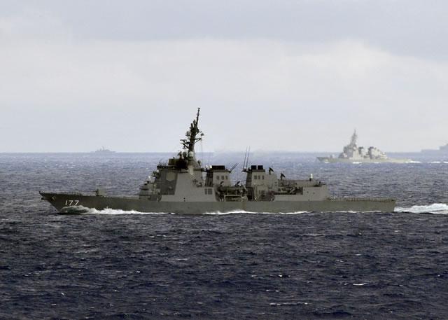Japan's guided-missile destroyer JDS Atago (DDG 177). Picture: US Navy