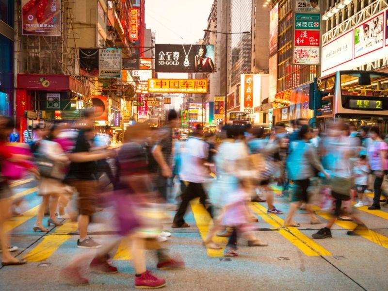 Mong Kok, Kowloon. Photo: iStock Photo