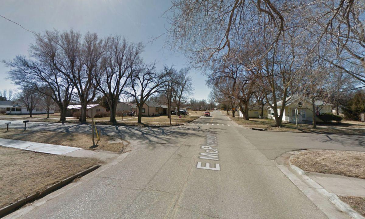 Lindsborg, Kansas, in the United States. Photo: Google Maps