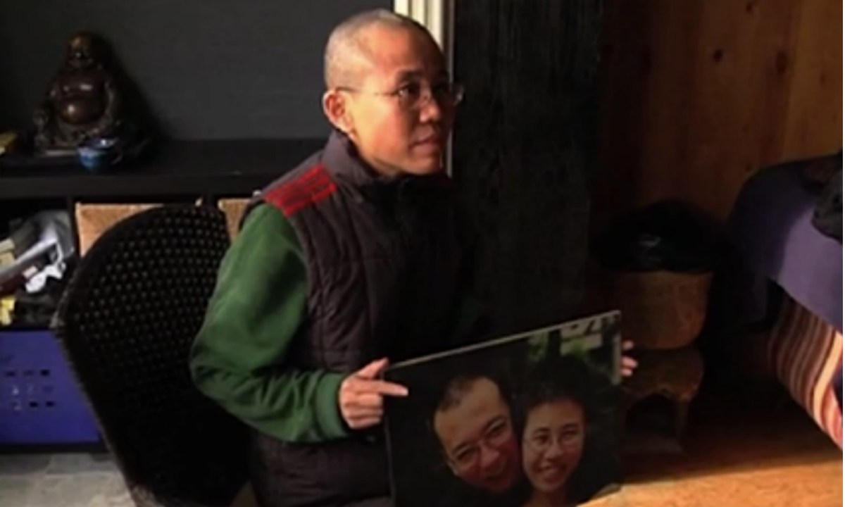 Liu Xia, the widow of Chinese dissident Liu Xiaobo. Photo: RTHK