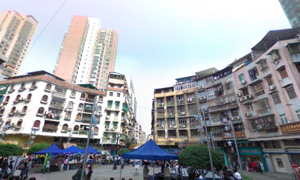 San Kio District in Macau Photo: Google Maps