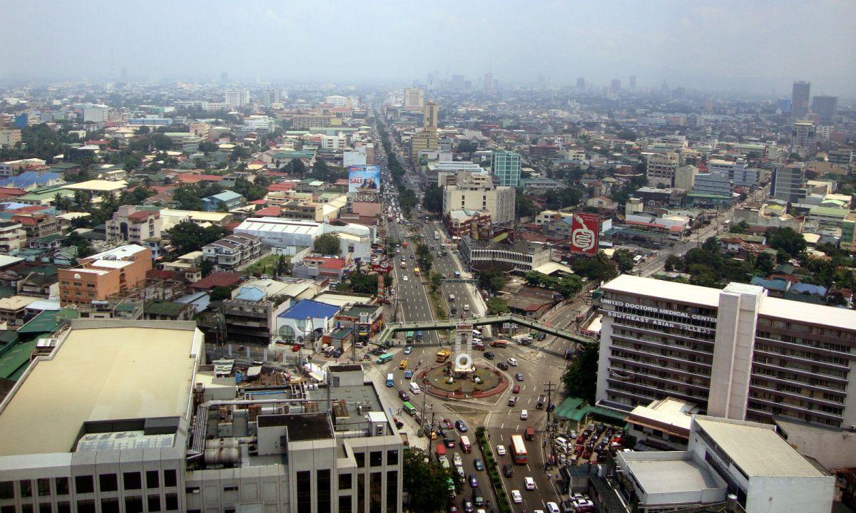 Quezon City, Philippines. Photo: Wikimedia Commons