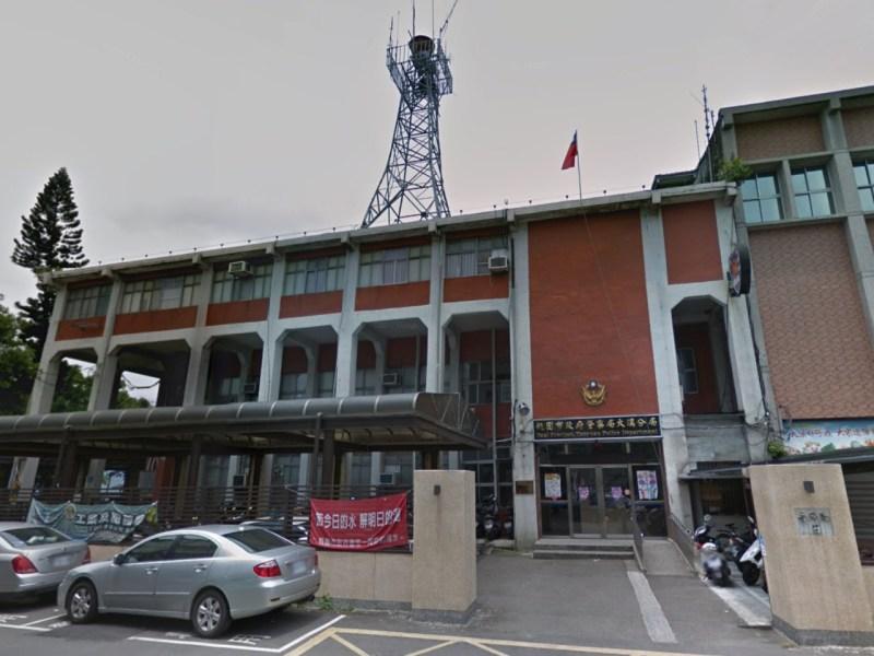 Daxi Precinct, Taoyuan Police Department, Taiwan. Photo: Google Maps