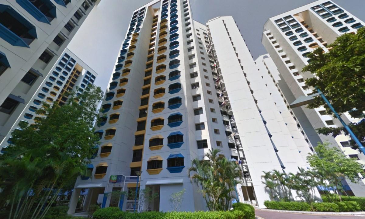 Block 181 on Bedok North Road, Singapore. Photo: Google Maps