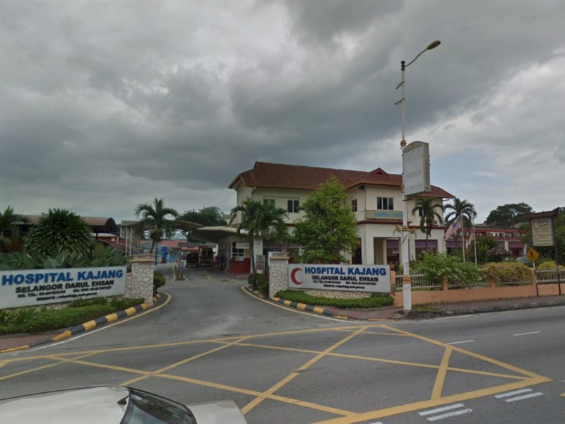 Kajang Hospital, Selangor, Malaysia. Photo: Google Maps