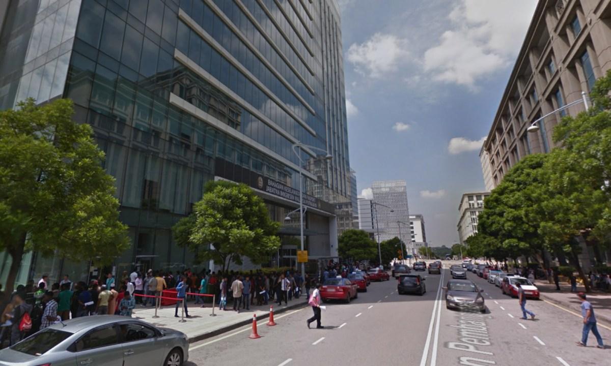 Immigration Department, Putrajaya, Malaysia. Photo: Google Maps