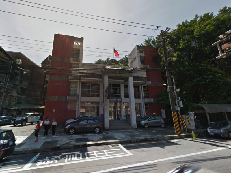 The First Precinct of Keelung City Police Bureau, Taiwan. Photo: Google Maps