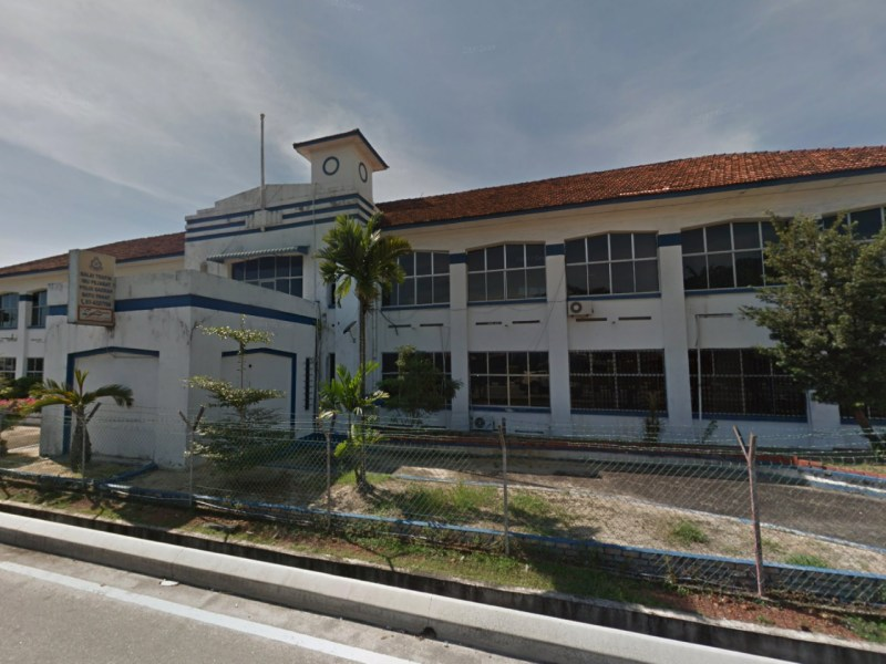 Batu Pahat police headquarters, Malaysia. Photo: Google Maps