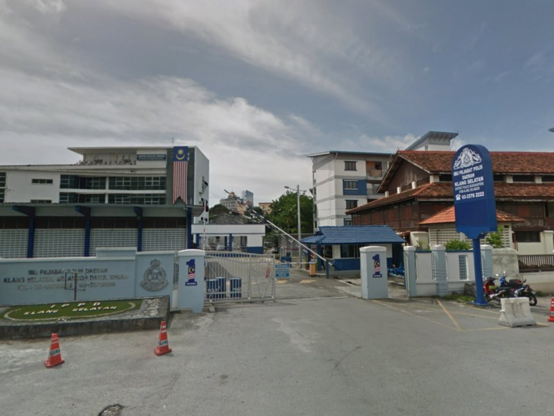 Klang District Police Headquarters in Selangor, Malaysia. Photo: Google Maps
