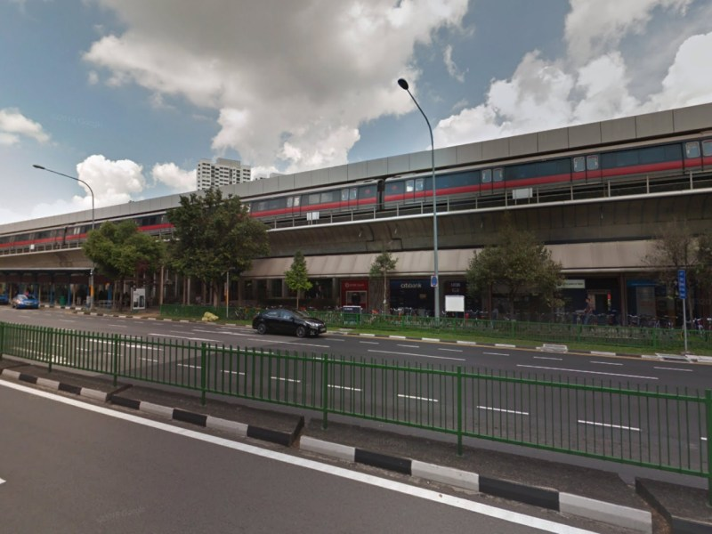 Ang Mo Kio MRT station, Singapore. Photo: Google Maps