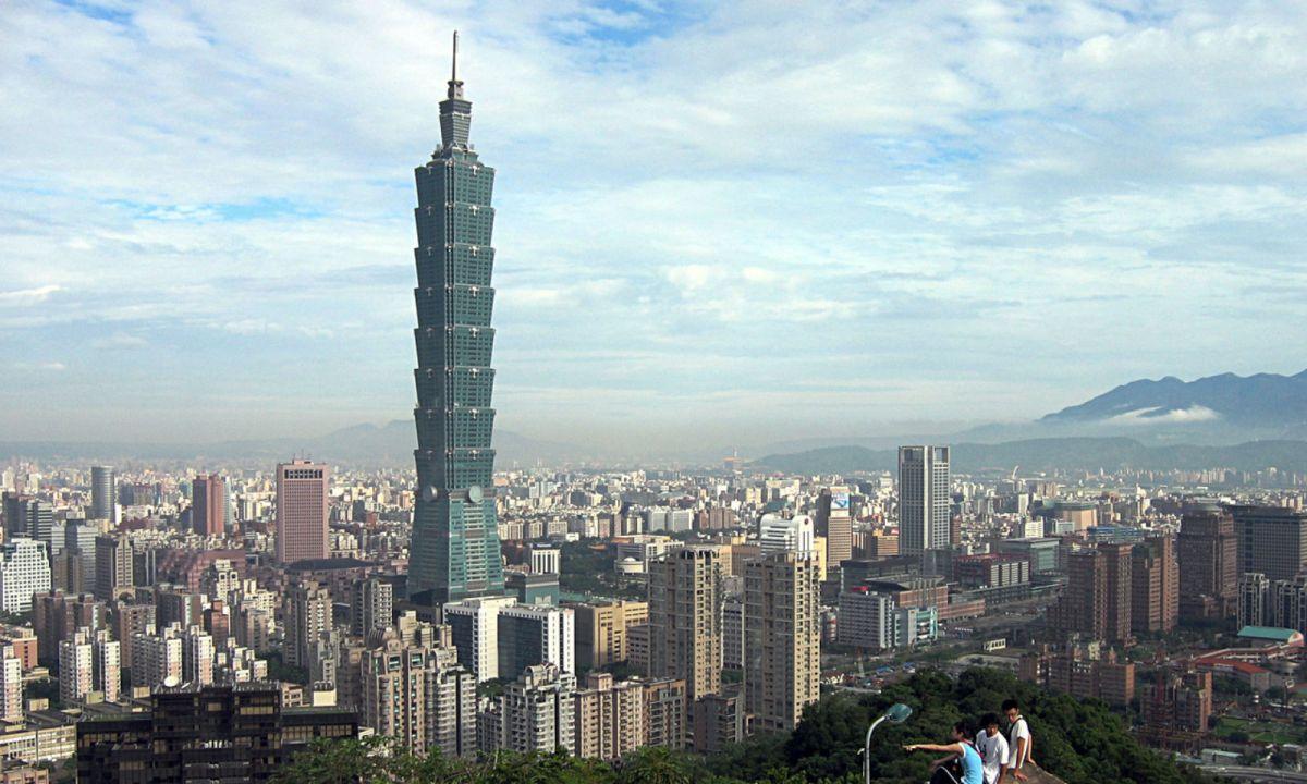 Taipei, Taiwan. Photo: Wikimedia Commons