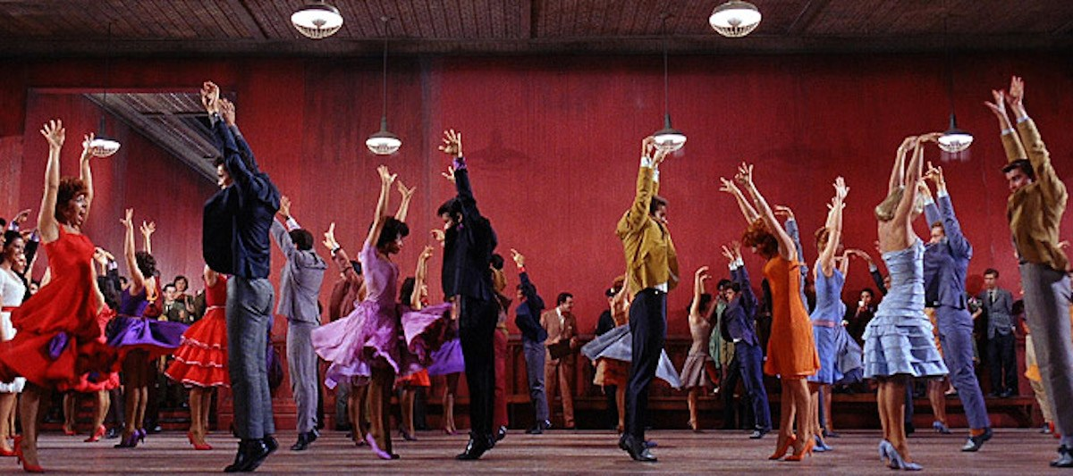 A dance routine from the film West Side Story. Photo: West Side Story / United Artists