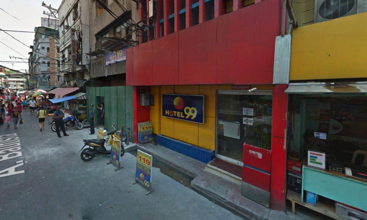 The Hotel 99 in Quiapo, Manila, in the Philippines. Photo: Google Maps