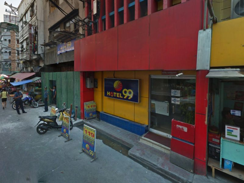 The Hotel 99 in Quiapo, Manila, in the Philippines. Photo: Google Maps
