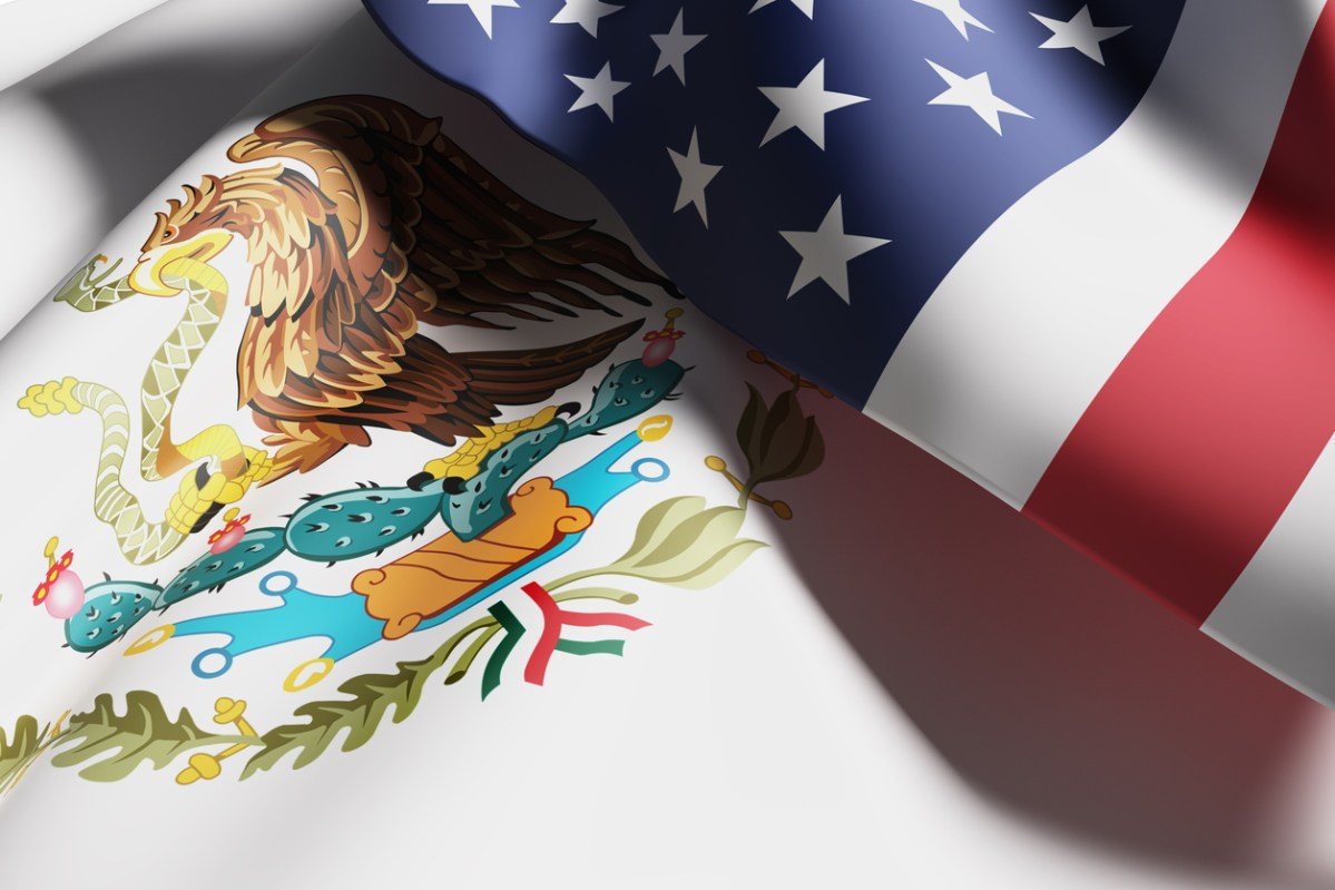 US President Donald Trump's belligerent posture toward Mexico has created diplomatic challenges. Illustration: iStock