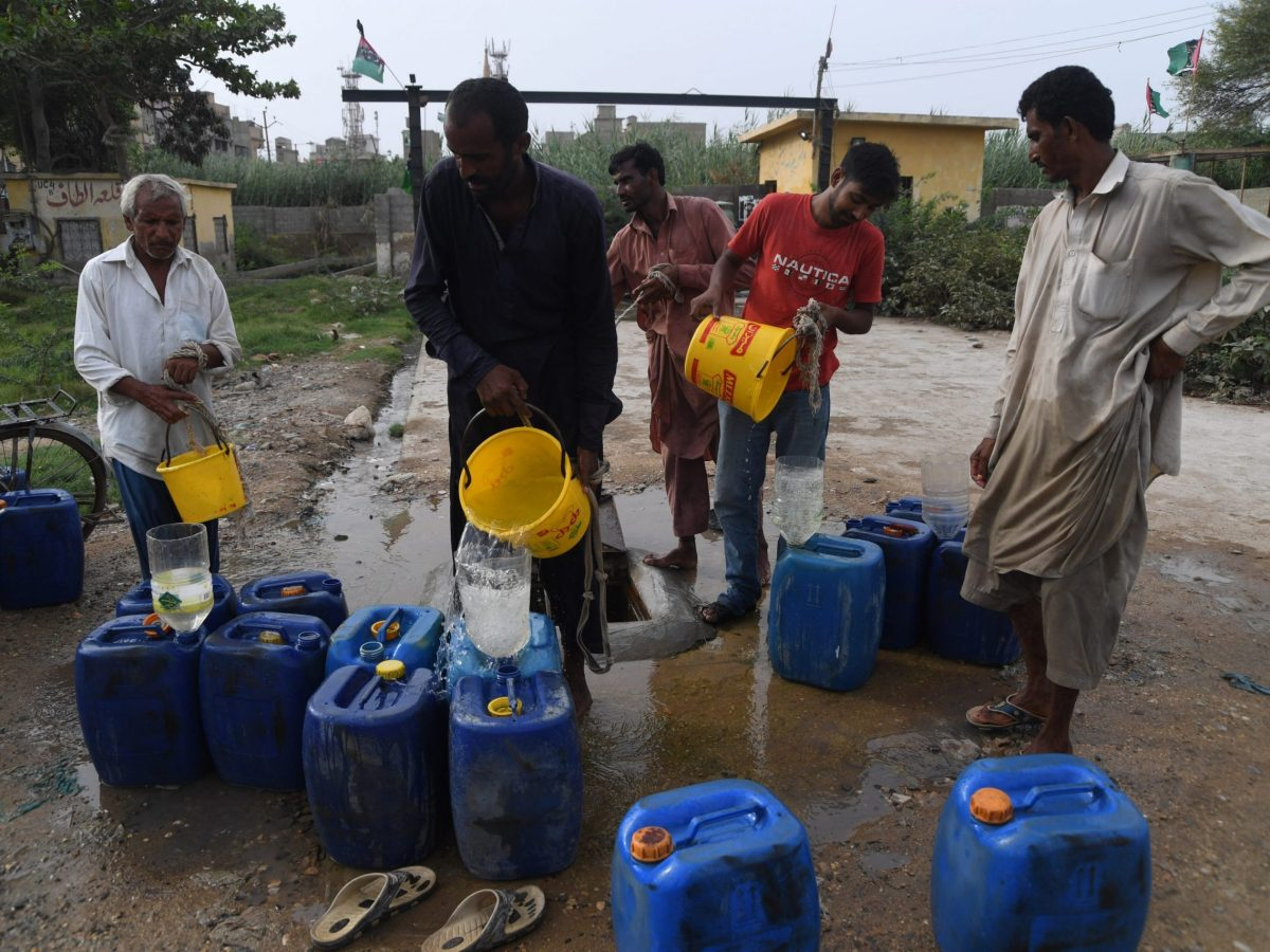 Pakistan is on the verge of an ecological disaster if authorities do not urgently address looming water shortages, experts say. Photo: AFP/Asif Hassan