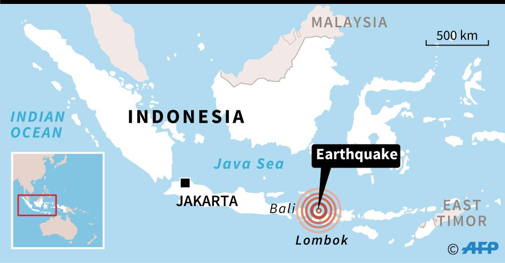 Map: AFP