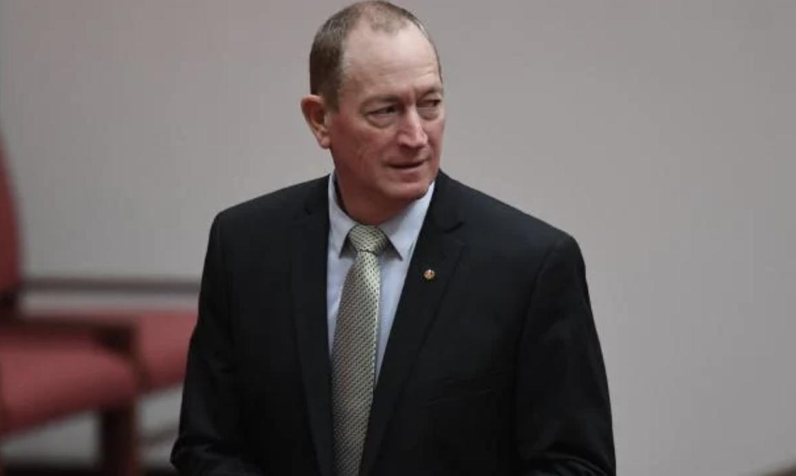 Australian Senator Fraser Anning. Photo: Facebook