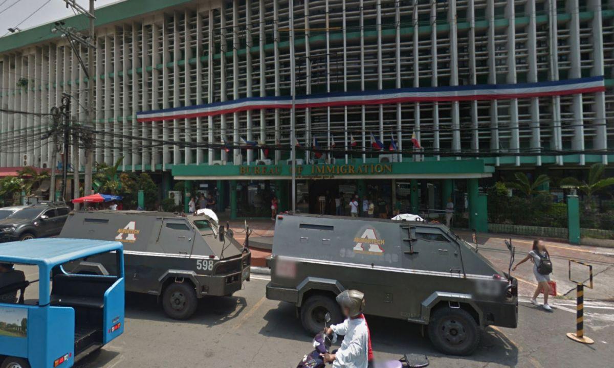 Bureau of Immigration in Manila, Philippines. Photo: Google Maps
