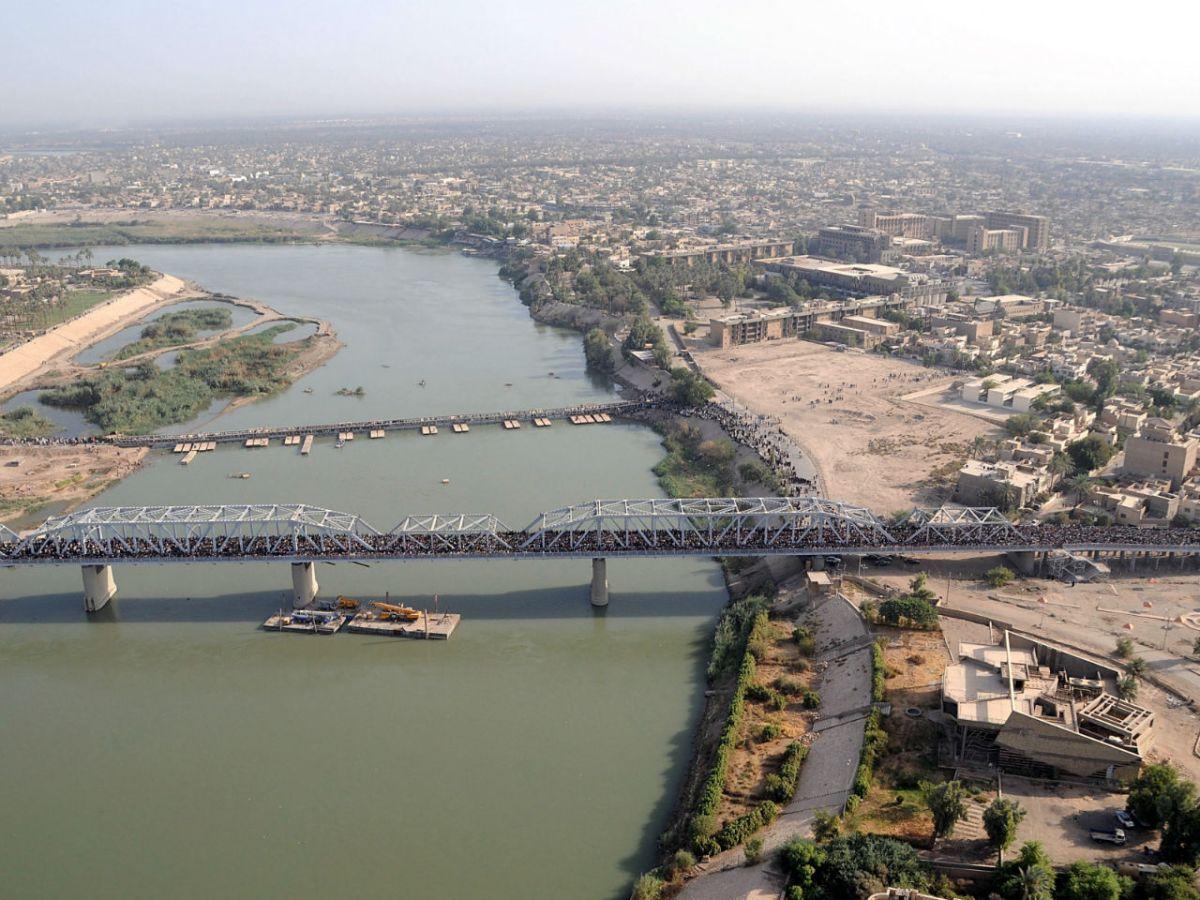 Baghdad, Iraq. Photo: Wikimedia Commons, US Army Staff Sgt. Lorie Jewell