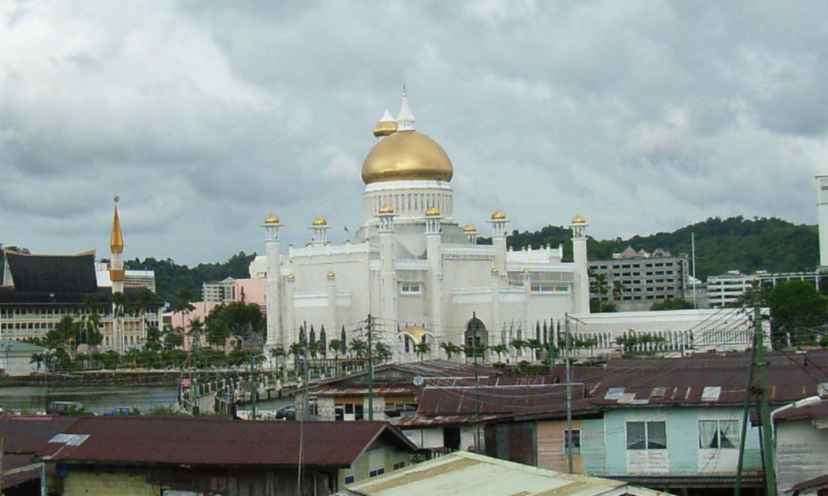 Bandar Seri Begawan, the capital of Brunei. Photo: Wikimedia Commons