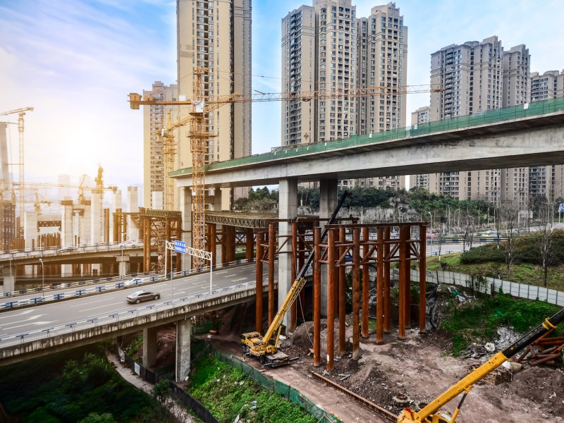 Beijing is planning to boost infrastructure spending. Photo: iStock
