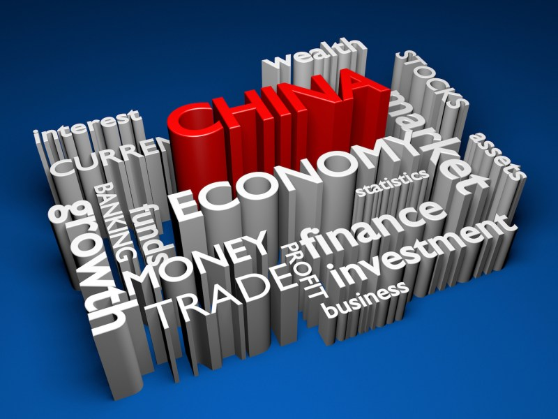China's economy is starting to slow after a raft of economic data. Illustration: iStock