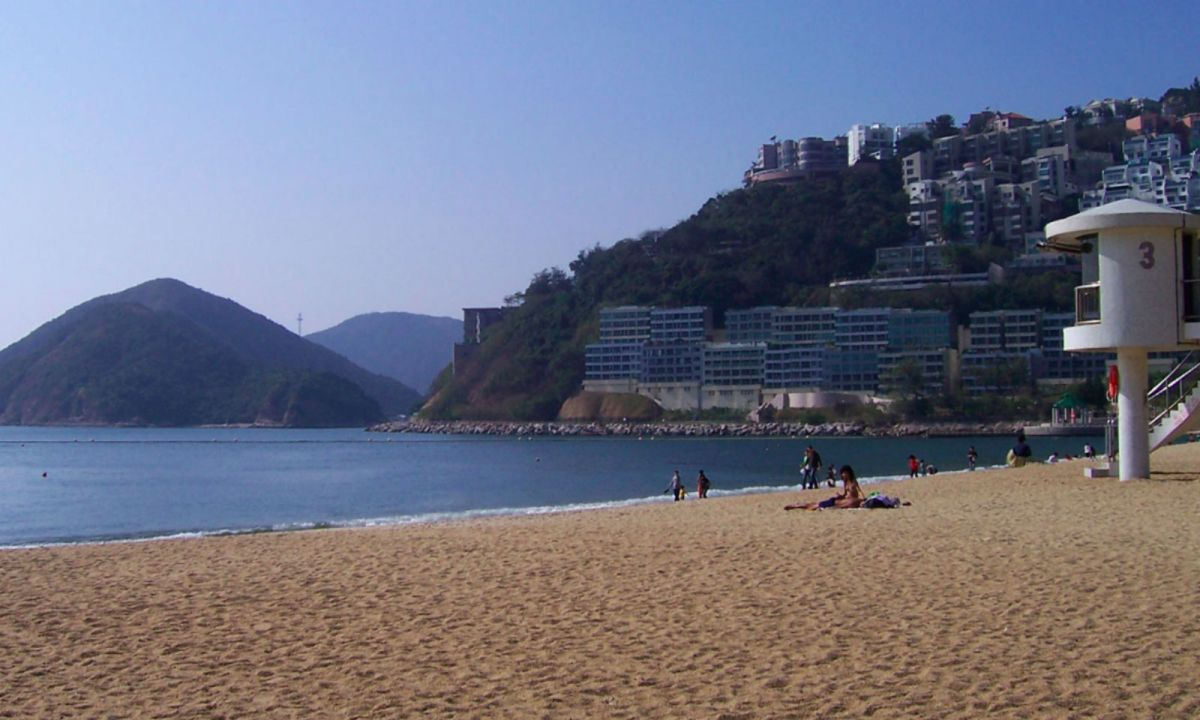 Repulse Bay beach on Hong Kong Island Photo: Wikimedia Commons