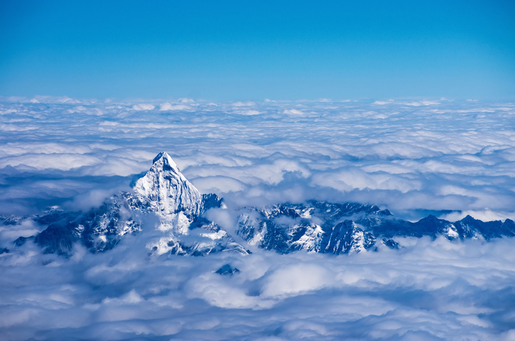 The Himalayas play a central role in driving Asia's hydrological cycle and weather and climate patterns, including triggering the annual summer monsoons. Photo: iStock
