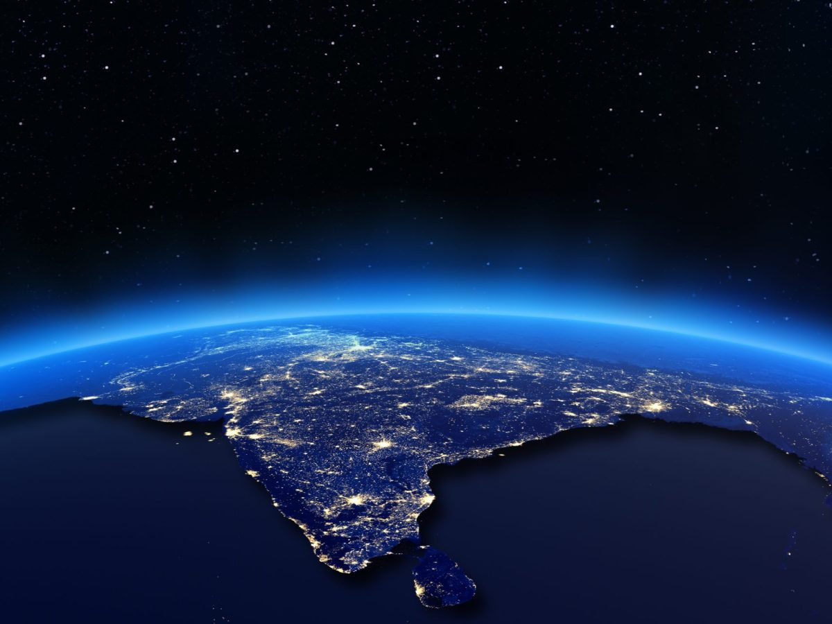 India's digital industry, that has traditionally lagged behind China, Japan and South Korea, is trying to catch up. Photo: IStock / NASA