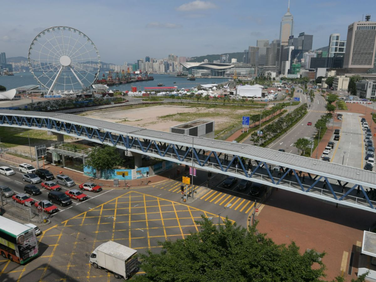 Central Harbourfront on Hong Kong Island Photo: HK Government
