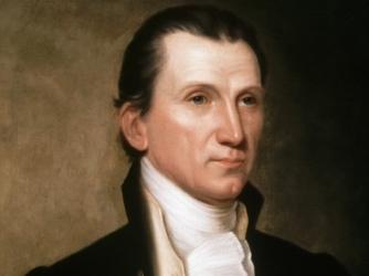 US president James Monroe (1817-25).