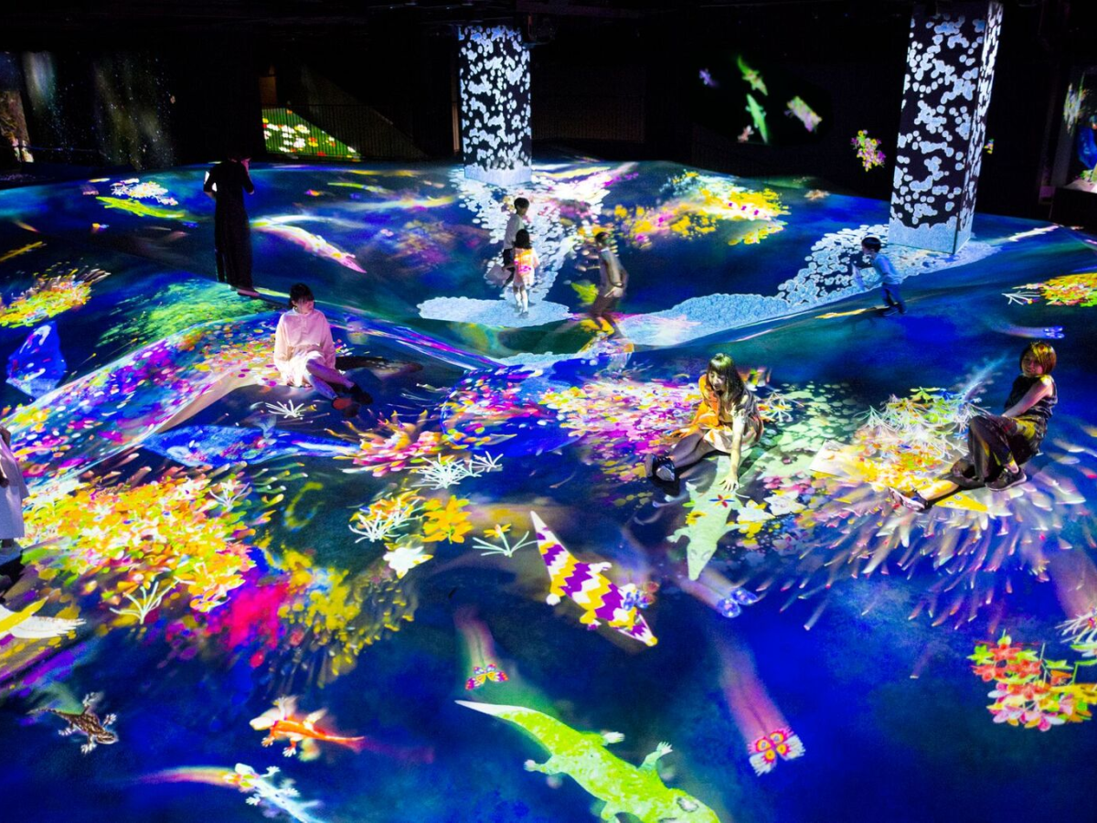 In Tokyo, curious social media maniacs can now visit a custom-built Instragram wonderland. Photo: teamLab