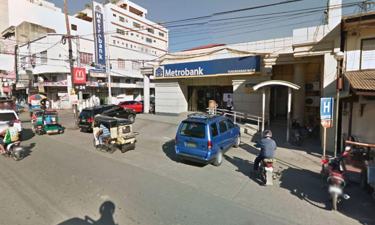 Metrobank in Tuguegarao City, Philippines. Photo: Google Maps