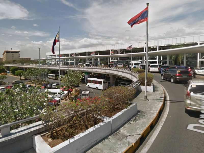 Ninoy Aquino International Airport in Manila, Philippines. Photo: Google Maps