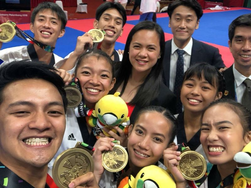 The Philippines bagged its first two medals on the first day of the 18th Asian Games in Indonesia. Photo: Facebook/ Philippine Sports Commission