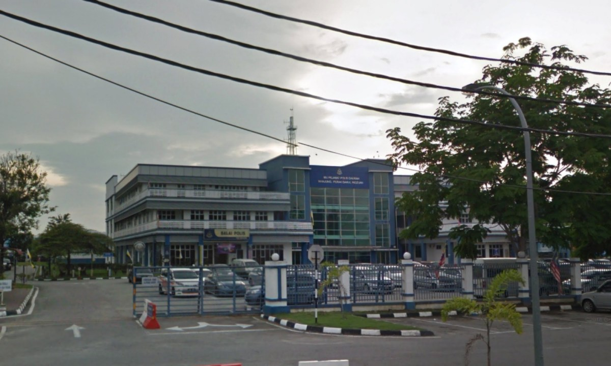 Manjung District Police Headquarters in Perak, Malaysia. Photo: Google Maps